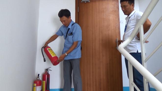 Liên tục bị trộm thiết bị PCCC, chung cư cao cấp ở Sài Gòn mời công an điều tra - ảnh 2