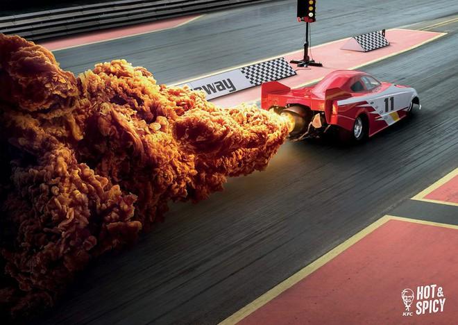 Mẩu quảng cáo bom đạn cháy nổ của hãng gà rán KFC làm người xem thích thú với siêu nhân biến hình và tên lửa thăng thiên - ảnh 2