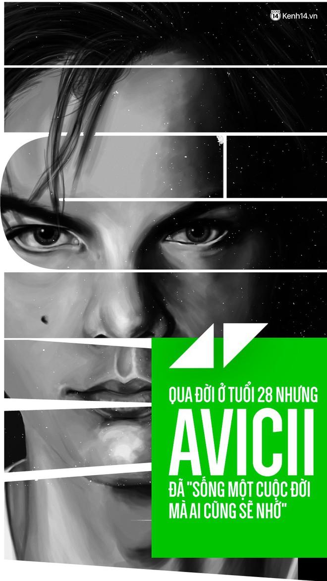 Qua đời ở tuổi 28 nhưng Avicii đã sống một cuộc đời mà ai cũng sẽ nhớ - Ảnh 1.