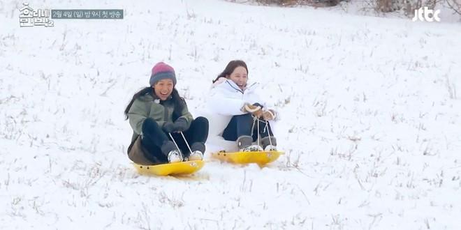 Khổ thân Yoona, đang F.A còn phải chứng kiến vợ chồng Hyori hôn nhau tình cảm! - Ảnh 6.