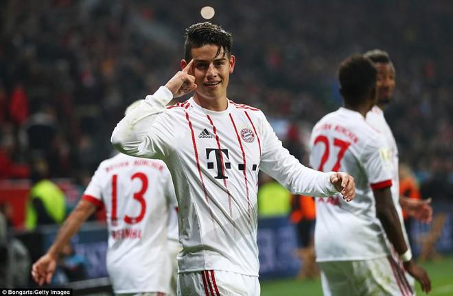 James Rodriguez ghi bàn và kiến tạo trong chiến thắng của Bayern - Ảnh 3.