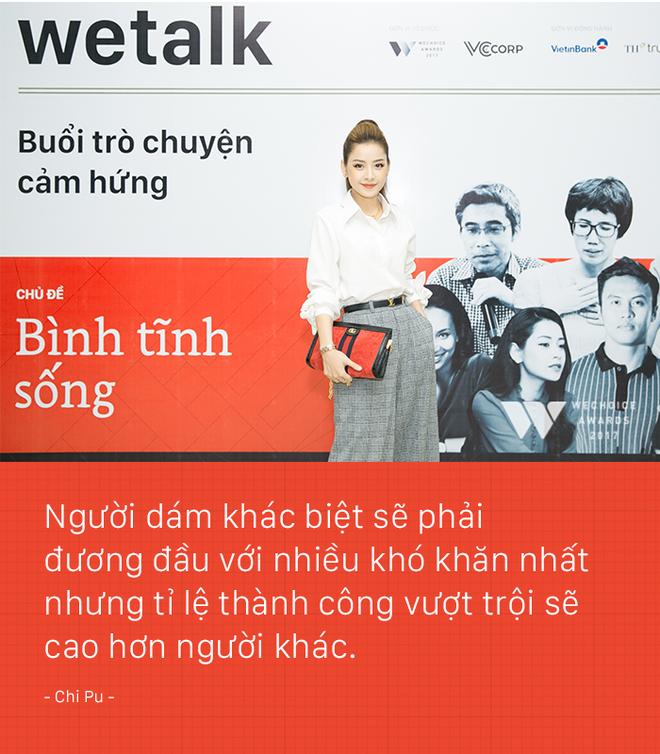 Miss showbiz Chi Pu lần đầu kể về giai đoạn khủng hoảng đến trầm cảm sau khi tuyên bố đi hát - Ảnh 5.