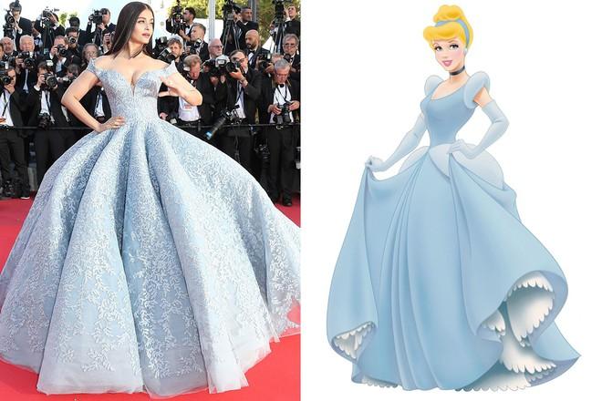 """Diện đầm đúng kiểu công chúa cổ tích, """"Phạm Băng Băng Thái Lan"""" Chompoo Araya chiếm hết sóng thảm đỏ Cannes - Ảnh 11."""
