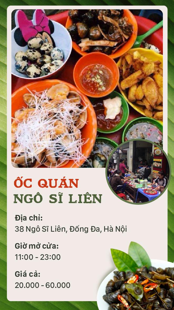 Buổi tối mát trời thì tranh thủ rủ nhau đi ăn ốc thôi, có cả list quán ở Hà Nội rồi đây - Ảnh 1.