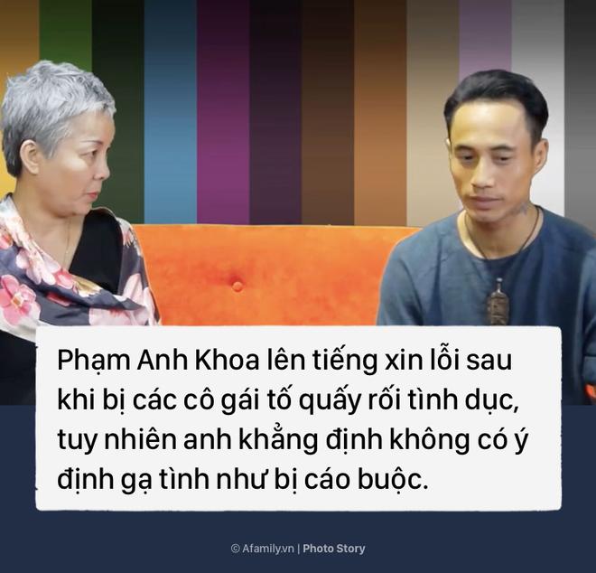 Nhìn lại toàn bộ diễn biến scandal Phạm Anh Khoa gạ tình gây sốc cộng đồng mạng - Ảnh 13.