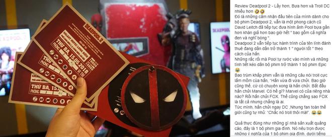 Fan Việt cười sảng sau khi xem bom tấn hài bựa Deadpool 2 - ảnh 9