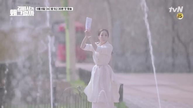Khổ thân Park Seo Joon, ra sức bắn tim cho Park Min Young nhưng bị hắt hủi chỉ vì.. cái tai - ảnh 5