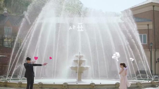 Khổ thân Park Seo Joon, ra sức bắn tim cho Park Min Young nhưng bị hắt hủi chỉ vì.. cái tai - ảnh 9