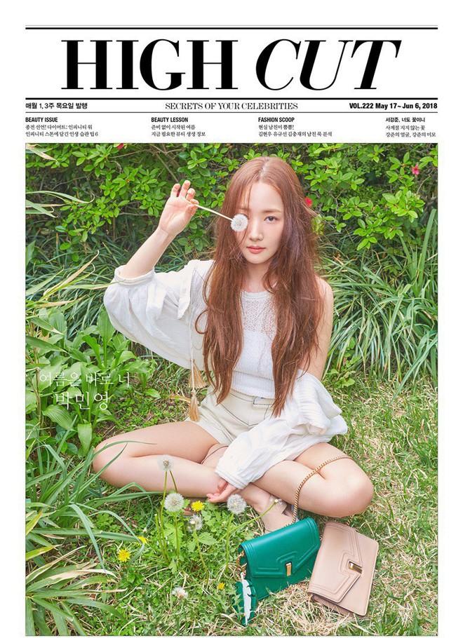 Nữ hoàng dao kéo Park Min Young khoe trọn vẹn nhan sắc đỉnh cao trên tạp chí: Đẹp vừa vừa thôi! - Ảnh 4.