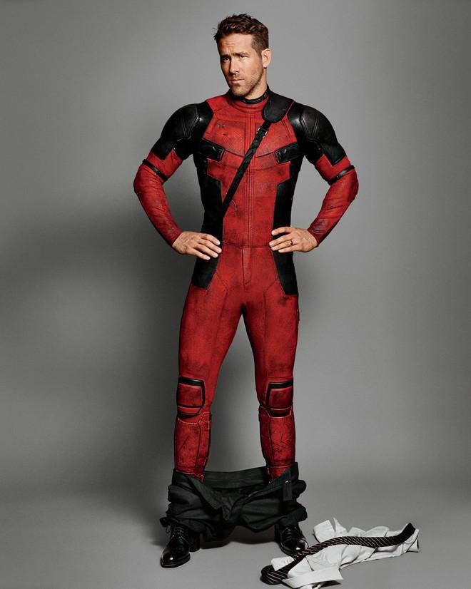 Không ngờ siêu anh hùng gây hài Deadpool cũng có thân hình như siêu mẫu và đây là bí quyết - ảnh 1