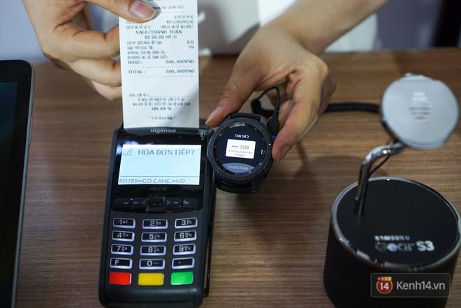 Nền tảng ứng dụng Samsung Pay đã cho phép thanh toán bằng đồng hồ thông minh và rút tiền mặt từ cây ATM chỉ với thao tác chạm smartphone - Ảnh 4.