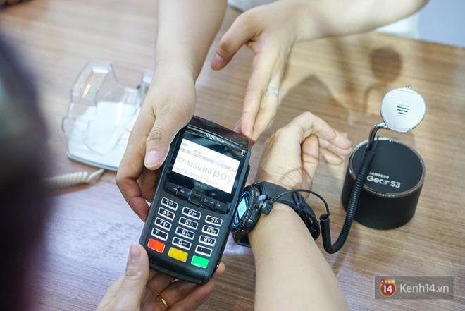 Nền tảng ứng dụng Samsung Pay đã cho phép thanh toán bằng đồng hồ thông minh và rút tiền mặt từ cây ATM chỉ với thao tác chạm smartphone - Ảnh 3.