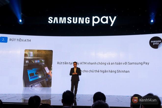 Nền tảng ứng dụng Samsung Pay đã cho phép thanh toán bằng đồng hồ thông minh và rút tiền mặt từ cây ATM chỉ với thao tác chạm smartphone - Ảnh 7.