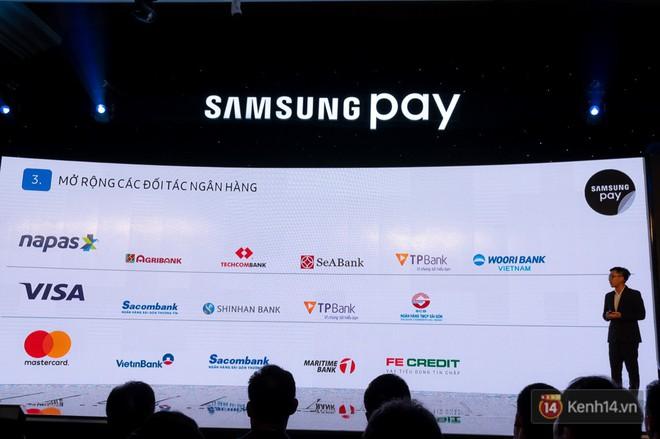 Nền tảng ứng dụng Samsung Pay đã cho phép thanh toán bằng đồng hồ thông minh và rút tiền mặt từ cây ATM chỉ với thao tác chạm smartphone - Ảnh 9.