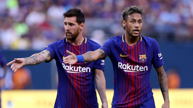 Messi: Neymar gia nhập Real Madrid sẽ là cái tát vào mặt những cầu thủ Barca - Ảnh 1.