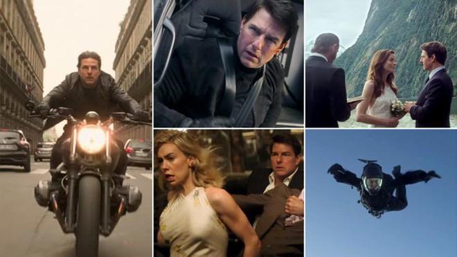 Tom Cruise đu bám trực thăng đầy liều lĩnh trong Mission: Impossible - Fallout - ảnh 5