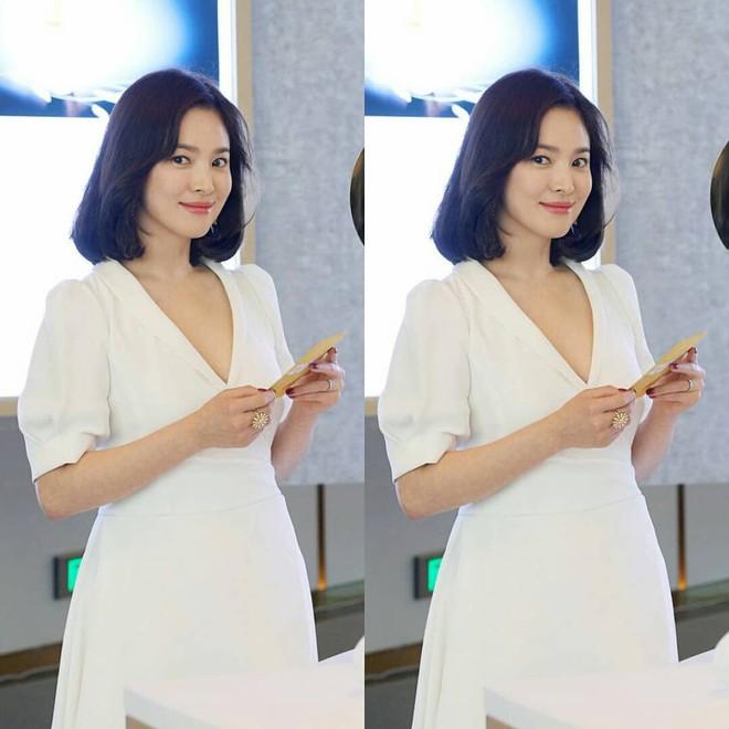 Không ăn vận lồng lộn nhưng Song Hye Kyo vẫn khiến người ta nể phục vì sự kín đáo này - ảnh 2