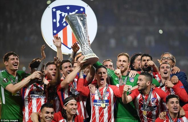 Griezmann chói sáng, Atletico lần thứ ba vô địch Europa League - Ảnh 21.