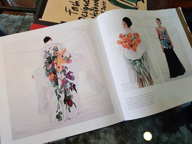 Em Hoa của NTK Công Trí sánh ngang với Dolce&Gabbana, Gucci khi xuất hiện trong sách ảnh nổi tiếng - Ảnh 4.