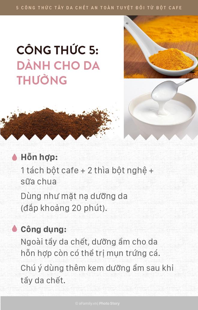 5 công thức tẩy da chết rẻ bèo mà siêu lành tính bằng bột cafe giúp da mịn màng xuyên suốt ngày hè - Ảnh 11.