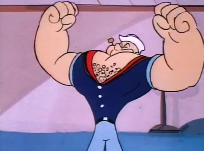 Đố 8x - 9x biết vì sao thủy thủ Popeye thích ăn rau chân vịt? Đáp án là điều không một ai có thể ngờ tới - ảnh 5