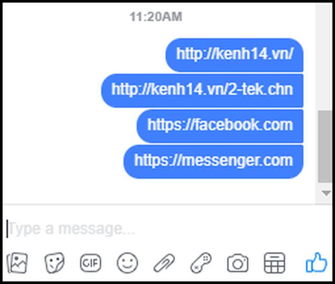 Facebook Messenger bản web gặp lỗi gửi link, đây là cách khắc phục chỉ 1 giây là xong - ảnh 1