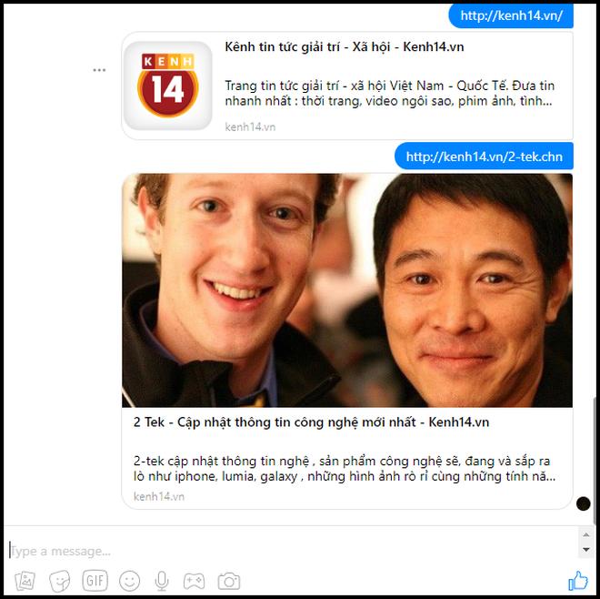Facebook Messenger bản web gặp lỗi gửi link, đây là cách khắc phục chỉ 1 giây là xong - ảnh 3