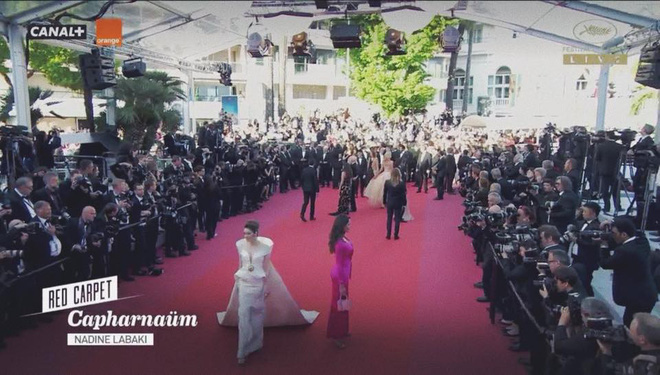 Sau 2 ngày vắng mặt, Lý Nhã Kỳ diện váy dài quét đất trở lại ấn tượng trên thảm đỏ Cannes - ảnh 2