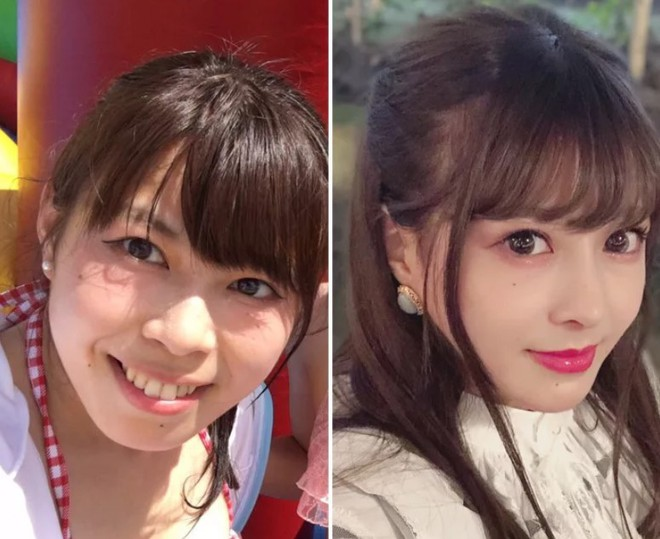 Khoe ảnh PTTM thành công, thiếu nữ Nhật được dân tình nhận xét: Trông như vừa đầu thai kiếp khác! - ảnh 2