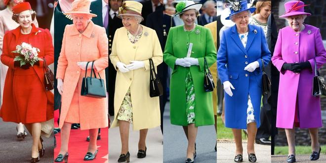 Nếu bạn thắc mắc vì sao Nữ hoàng Elizabeth mặc đồ xanh nõn chuối đến Đám cưới Hoàng gia thì lý do là thế này - ảnh 5