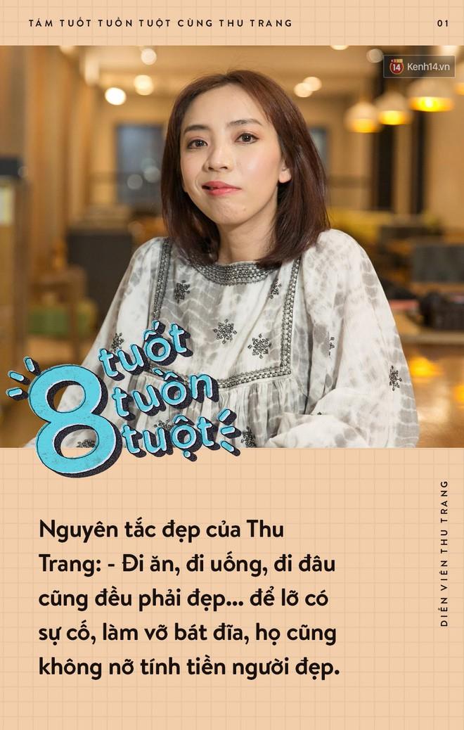 Tám tuốt tuồn tuột: Sẵn sàng nhường danh hiệu Hoa hậu nhưng Thu Trang vẫn không quên dằn mặt Diệu Nhi, PuKa và Khả Như - ảnh 1