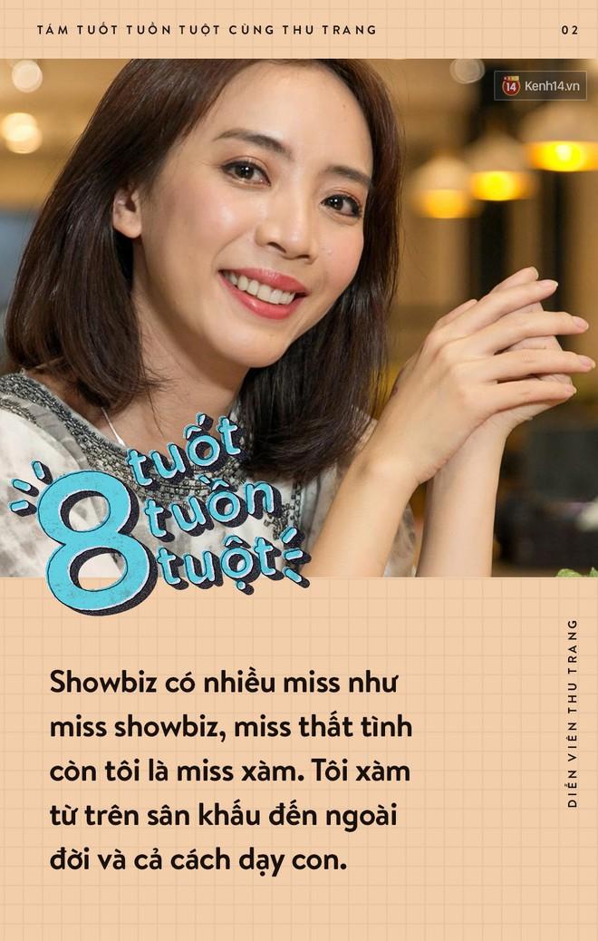 Tám tuốt tuồn tuột: Sẵn sàng nhường danh hiệu Hoa hậu nhưng Thu Trang vẫn không quên dằn mặt Diệu Nhi, PuKa và Khả Như - ảnh 2