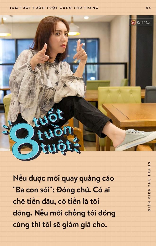 Tám tuốt tuồn tuột: Sẵn sàng nhường danh hiệu Hoa hậu nhưng Thu Trang vẫn không quên dằn mặt Diệu Nhi, PuKa và Khả Như - ảnh 4