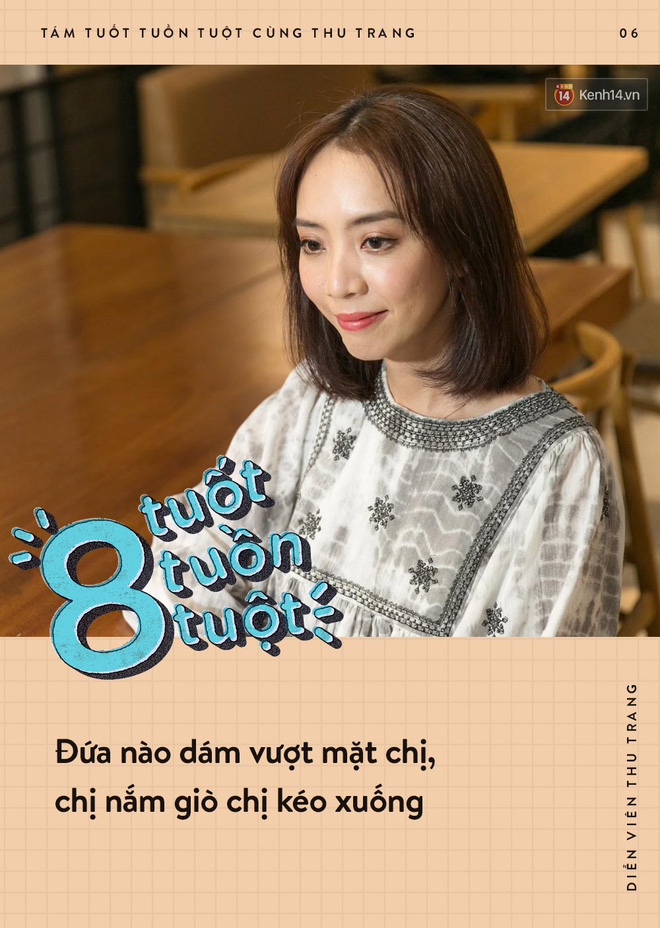 Tám tuốt tuồn tuột: Sẵn sàng nhường danh hiệu Hoa hậu nhưng Thu Trang vẫn không quên dằn mặt Diệu Nhi, PuKa và Khả Như - ảnh 6