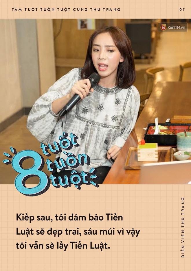 Tám tuốt tuồn tuột: Sẵn sàng nhường danh hiệu Hoa hậu nhưng Thu Trang vẫn không quên dằn mặt Diệu Nhi, PuKa và Khả Như - ảnh 7