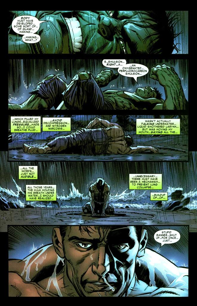 20 sự thật kì lạ mà chỉ fan ruột mới biết về gã khổng lồ xanh Hulk (Phần 1) - ảnh 3
