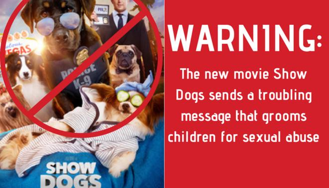 Show Dogs phải cắt bỏ cảnh phim vì cáo buộc lôi kéo trẻ em vào hành vi lạm dụng tình dục - ảnh 1