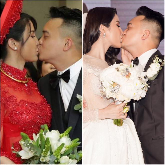 Vợ chồng Diệp Lâm Anh hạnh phúc tới nỗi hôn say đắm như muốn nuốt chửng nhau luôn - Ảnh 3.