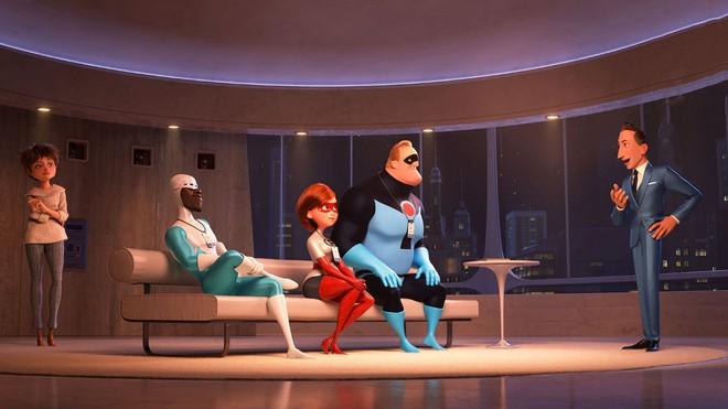 """Gia đình siêu nhân tái xuất mãn nhãn, thú vị và đậm tính giải trí trong """"Incredibles 2"""" - ảnh 2"""