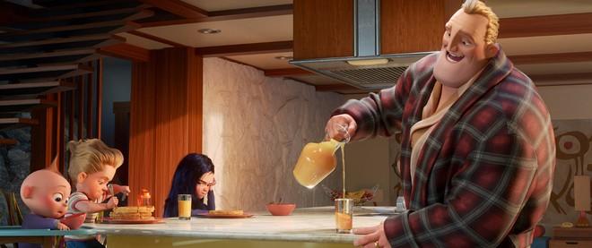"""Gia đình siêu nhân tái xuất mãn nhãn, thú vị và đậm tính giải trí trong """"Incredibles 2"""" - ảnh 6"""