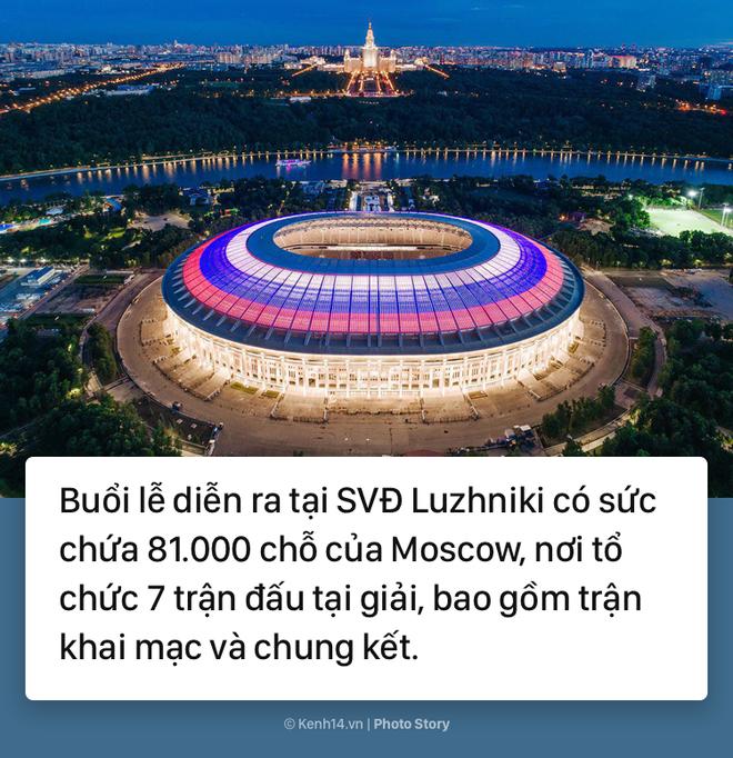Có gì thú vị để chờ đợi ở lễ khai mạc World Cup 2018? - Ảnh 3.