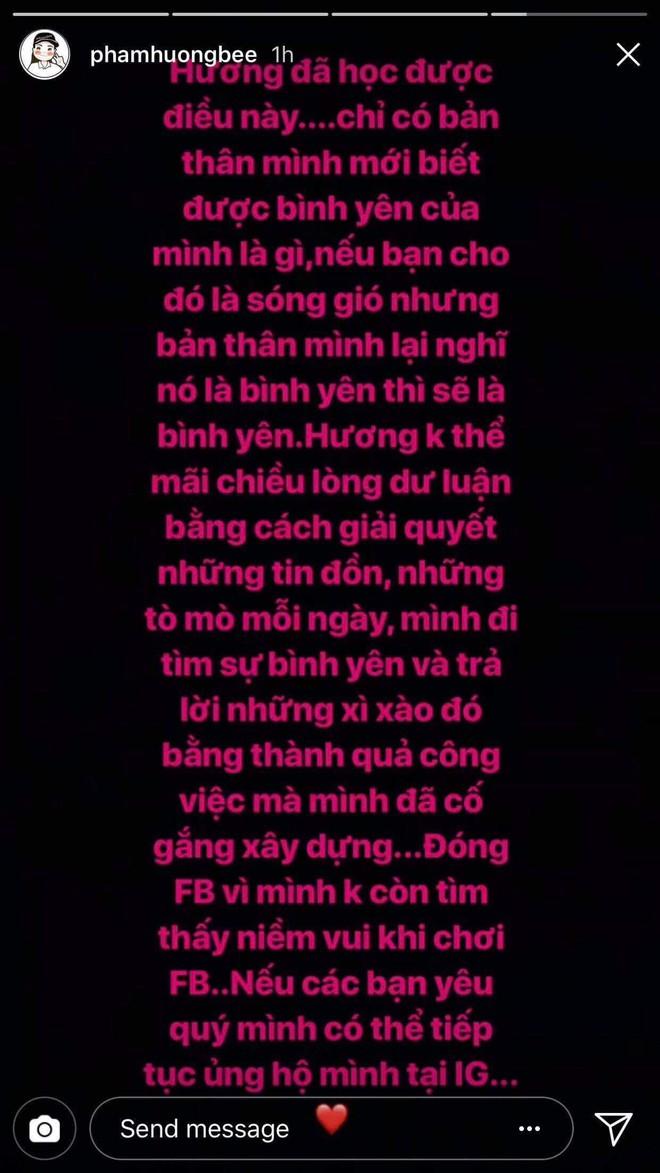 Phạm Hương không còn sử dụng Facebook là vì sao? - Ảnh 1.