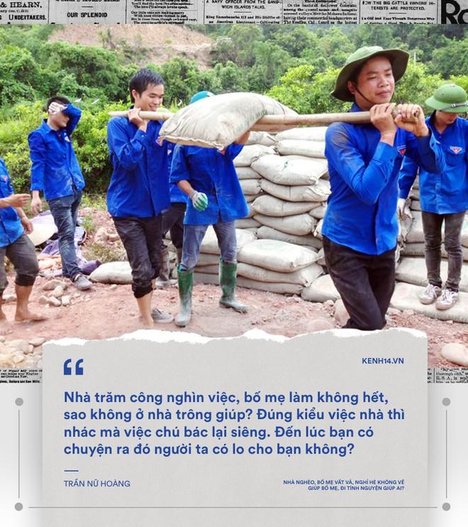 Nhà mình không bao giờ quét, ăn xong không rửa bát... mà sao sinh viên tình nguyện cứ chăm chăm đi cuốc đất, trồng cây cho người khác - Ảnh 11.