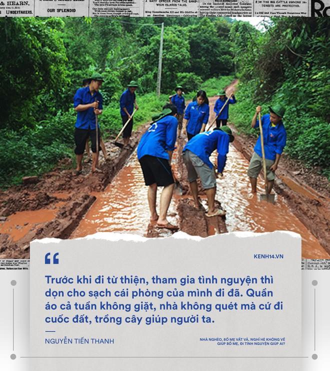 Nhà mình không bao giờ quét, ăn xong không rửa bát... mà sao sinh viên tình nguyện cứ chăm chăm đi cuốc đất, trồng cây cho người khác - Ảnh 9.