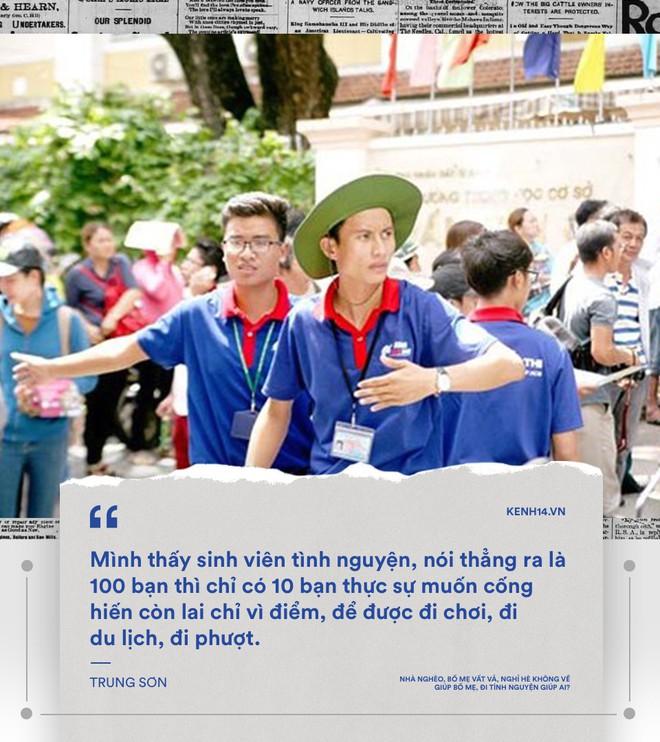 Nhà mình không bao giờ quét, ăn xong không rửa bát... mà sao sinh viên tình nguyện cứ chăm chăm đi cuốc đất, trồng cây cho người khác - Ảnh 15.