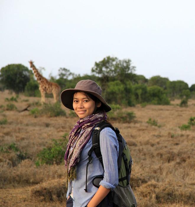 Cô gái tê giác Nguyễn Thị Thu Trang: Bảo tồn động vật hoang dã cũng chính là trực tiếp bảo vệ đồng loại của mình - ảnh 1