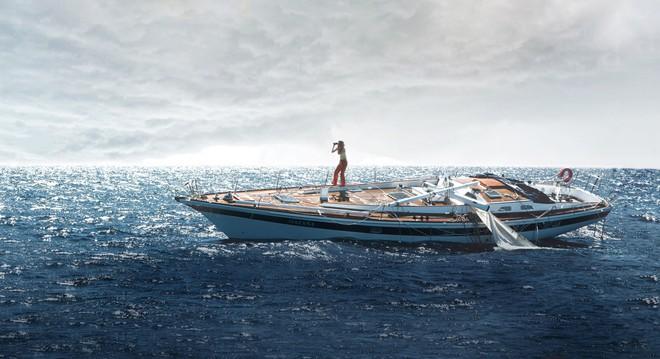 Có một nàng Rose giành lại chàng Jack từ biển trong phiên bản Titanic thuyền buồm Adrift - ảnh 4