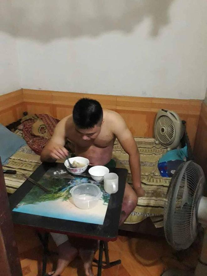Hành trình phục hồi từ cơ thể bị bỏng nặng 40% đến body cơ bắp khỏe mạnh của chàng trai Thái Nguyên - ảnh 6