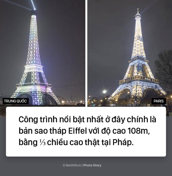 """Tháp Eiffel """"made in China"""" cứu sống thị trấn ma ở Trung Quốc - ảnh 6"""