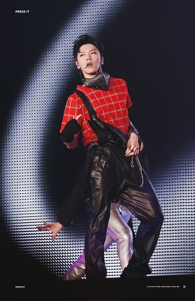 Chùm ảnh: Những công chúa, hoàng tử ngoại quốc của Kpop tỏa sáng rực rỡ trên sân khấu (P.2) - ảnh 30